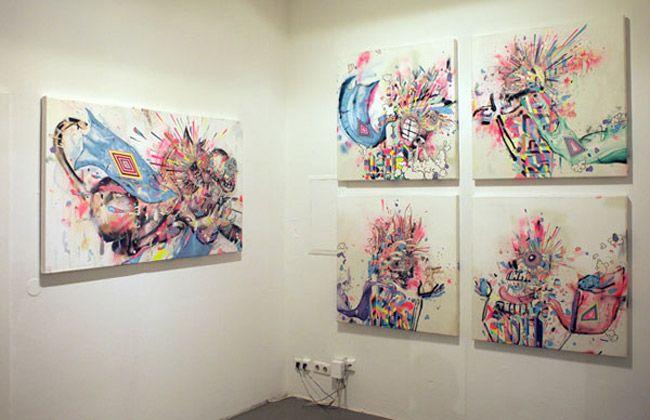Kunstgalerien – Contemporary Art & Urban Street – London, Paris, Berlin…   Superflu -