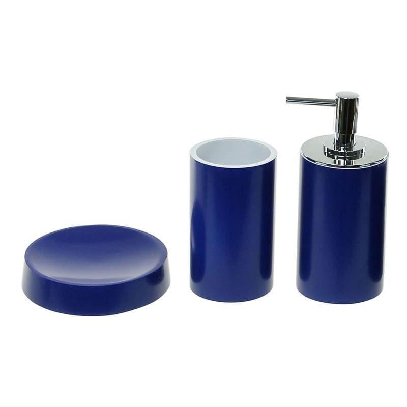 Nameeks YU280 Gedy Bathroom Accessories Set Blue Accessory Bathroom