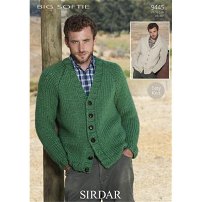 Sirdar Easy Knit Big Softie Mens Leaflet | Hobbycraft