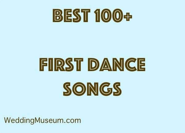 100 Best First Dance Songs - Bride & Groom, 2018 | Wedding ...