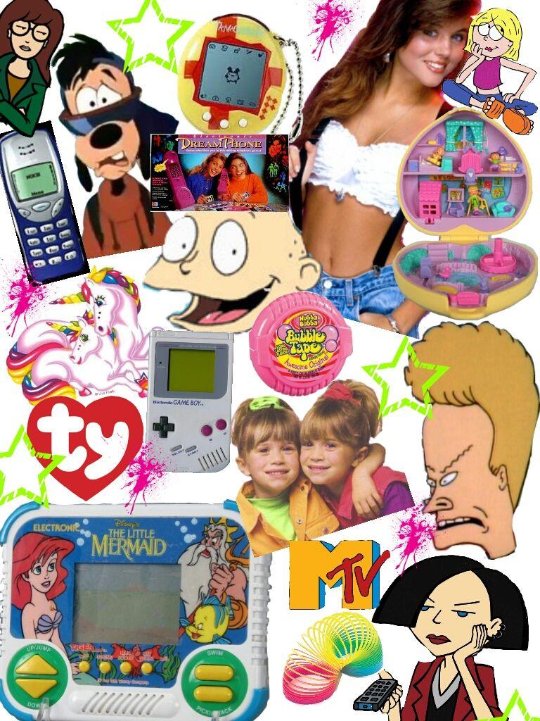 Early 2000s Girl Desktop Wallpaper 90 S Collage Like The 90 S Childhood Memories 90s