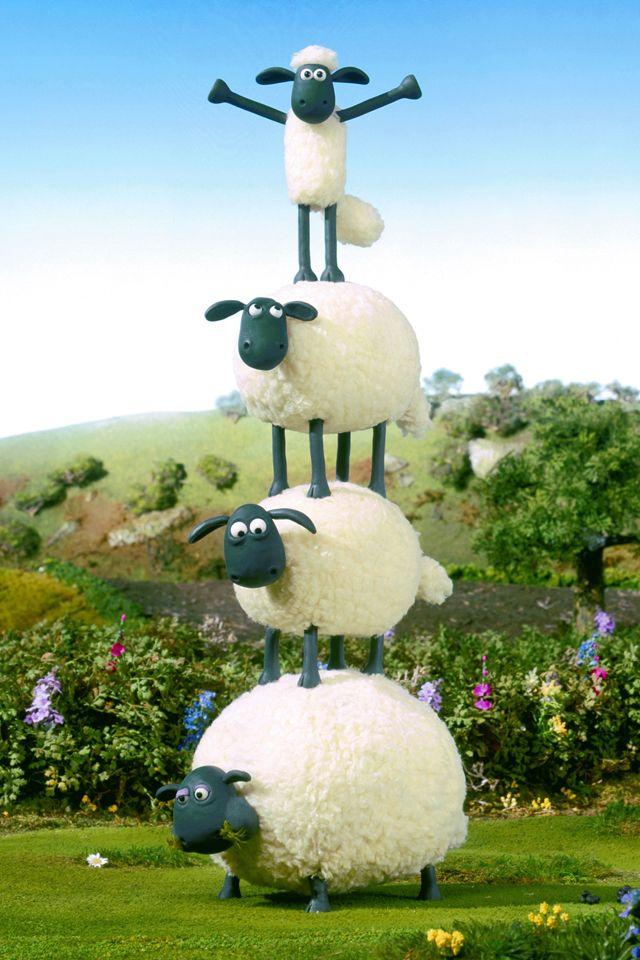 Shaun The Sheep Wallpaper Shaun The Sheep Sheep Cartoon Sheep Art