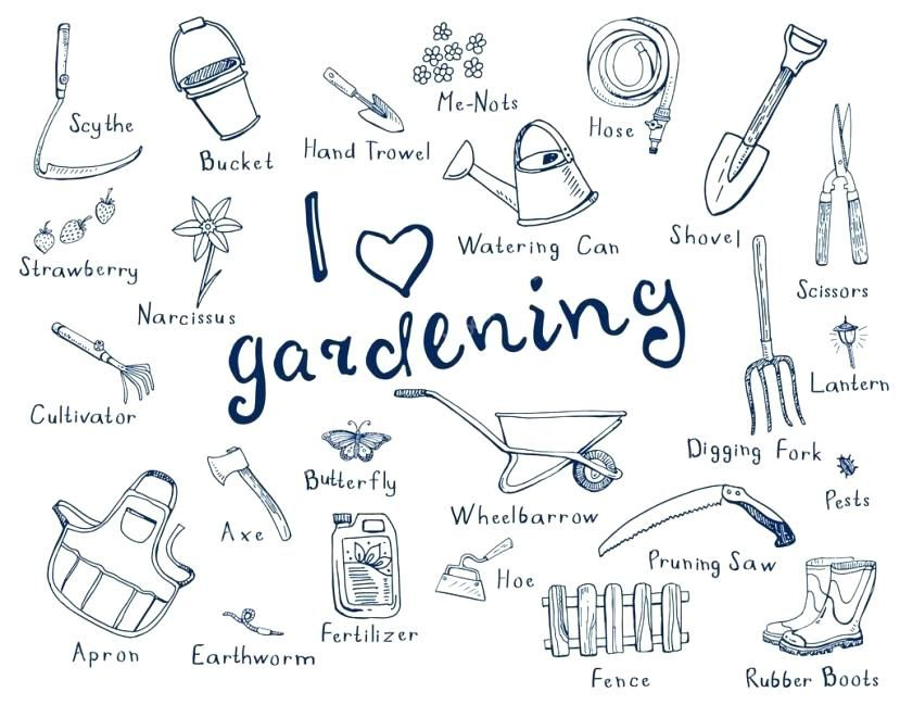 Names Of Garden With Pictures Beautiful Garden Tools With Names