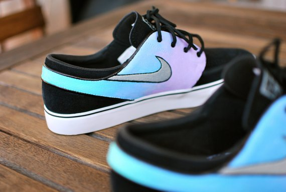 70d26196b76a1 Pastel Color Tie Dye Nike Zoom Stefan Janoski Sneakers - Custom Hand Painted  Shoes - Nike SB - Paint
