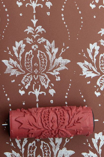 Our patterned paint rollers are a great way to spice up your home design.  They