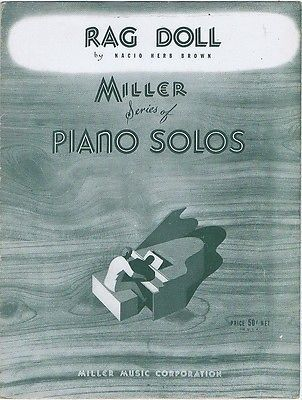 Rag doll piano solo, #1928, #vintage sheet #music,  View more on the LINK: http://www.zeppy.io/product/gb/2/381425482334/