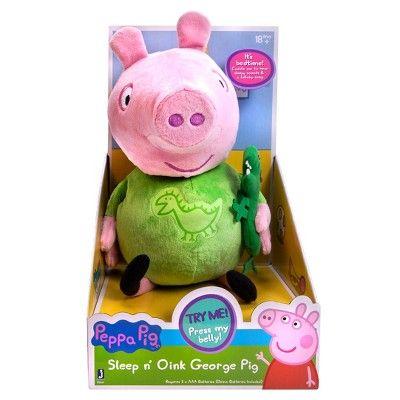 Peppa Pig Slumber N Oink George Plush Silas J Peppa Pig