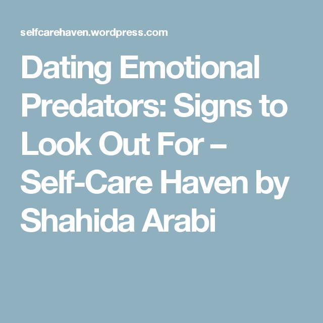Dating emotional predators
