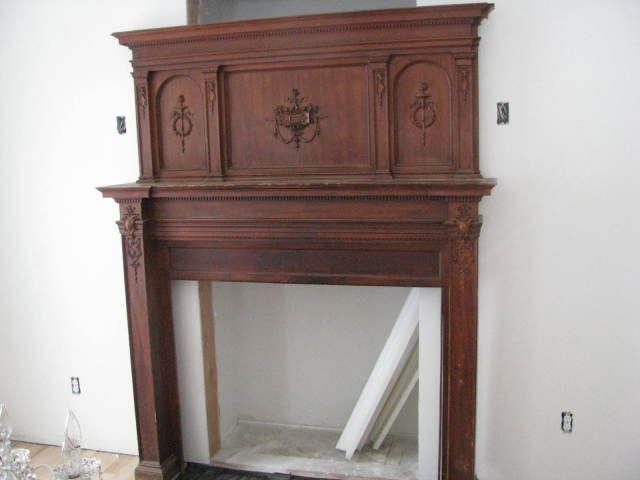 Antique Fireplace Mantels Collectibles General Antiques