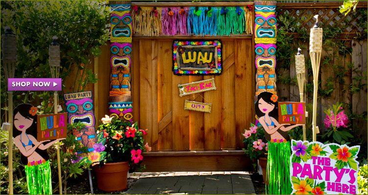 party packs - Luau Decorations