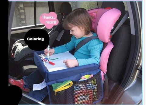 Travel Activity Tray For Toddler Car Seat