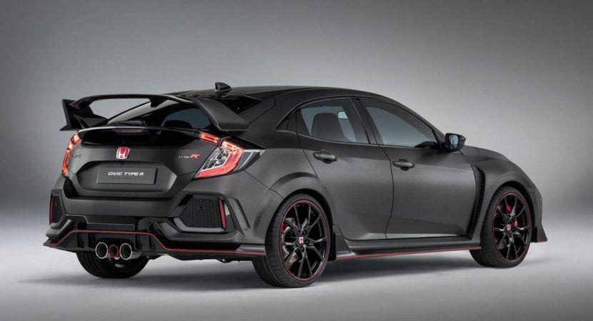 2017 Honda Civic Type R Previewed Ahead Geneva Automotorblog