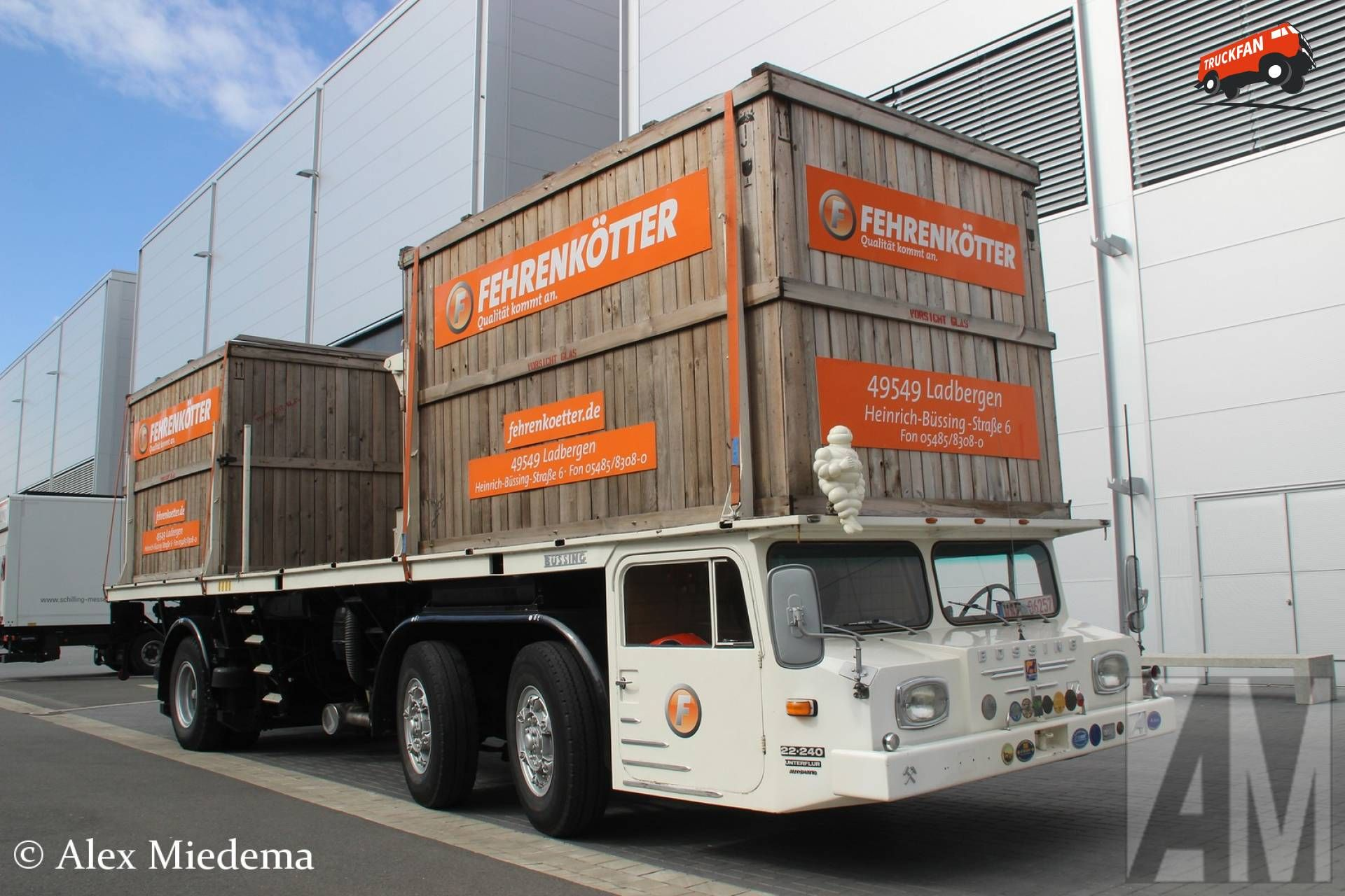 Bussing Supercargo Decklaster Used Trucks For Sale Rescue Vehicles Built Truck