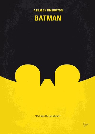 My Batman minimal movie poster