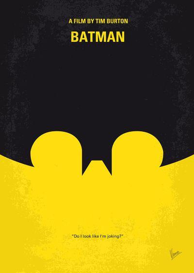 My Batman minimal movie poster