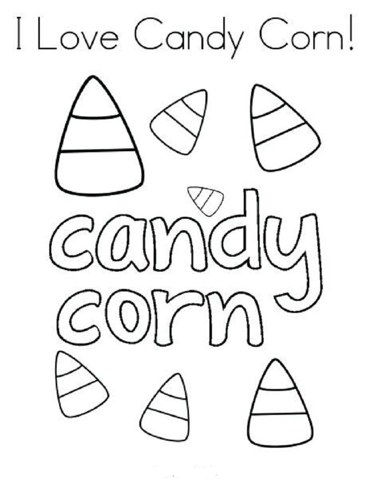 Pin By Amanda Jones On Fall Party Candy Coloring Pages Candy