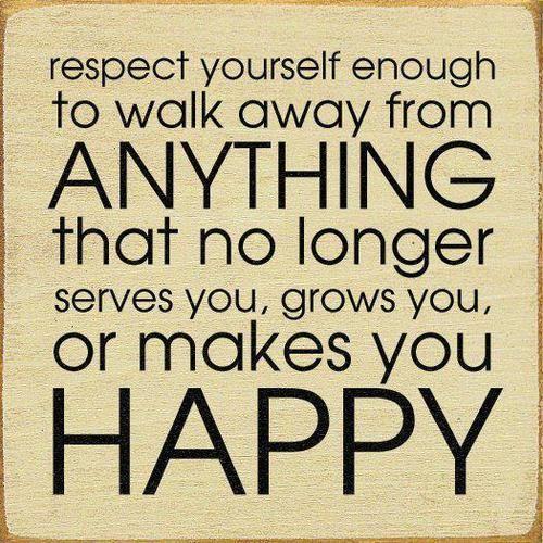 walk away.