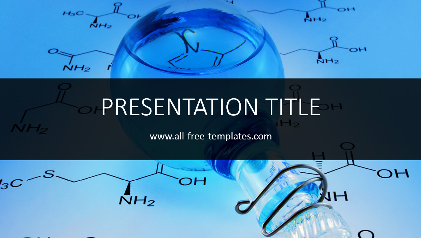 chemistry powerpoint template all free templates powerpoint