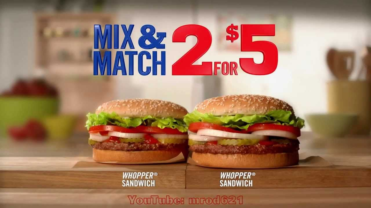 Healthy Fast Food Commercials
