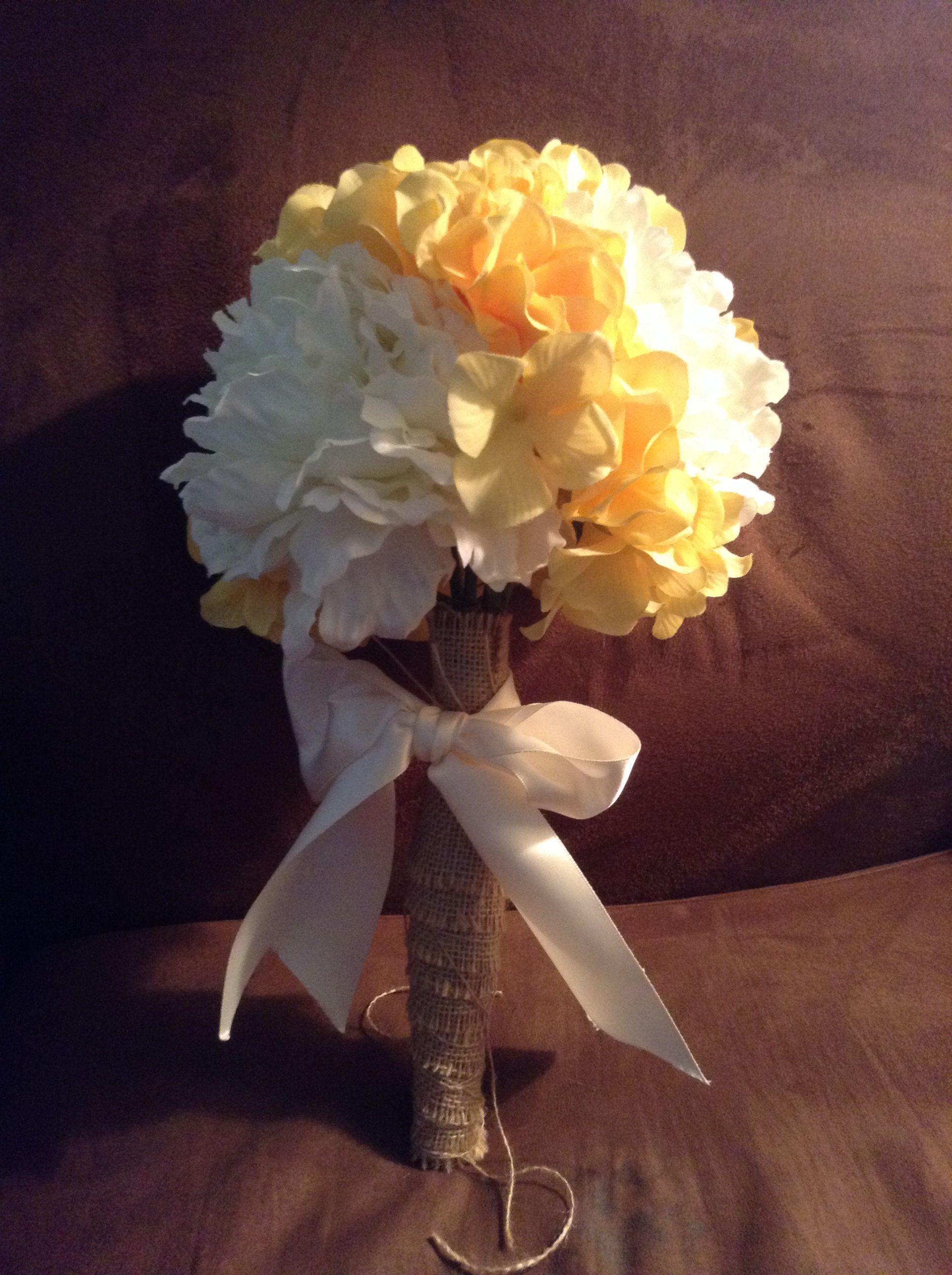 Homemade Wedding Bouquet.