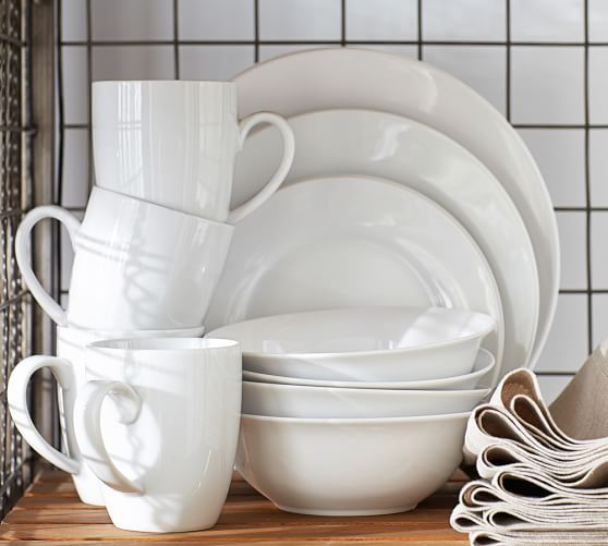 Caterer S 4 12 Piece Dinnerware Sets Pottery Barn
