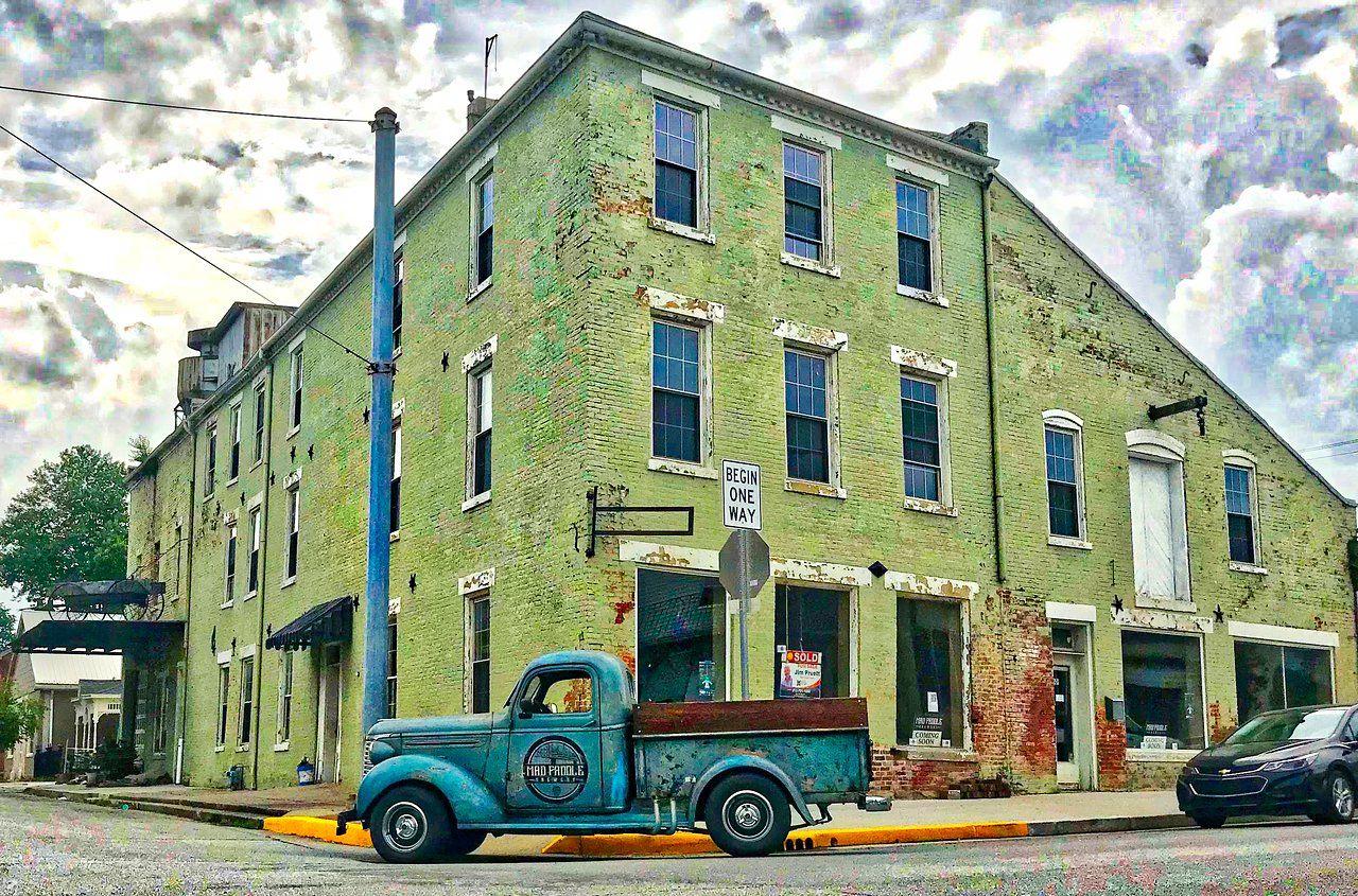 Mad Paddle Brewery Trip Advisor Madison Indiana Romantic Places Backyard greenhouse nashville indiana