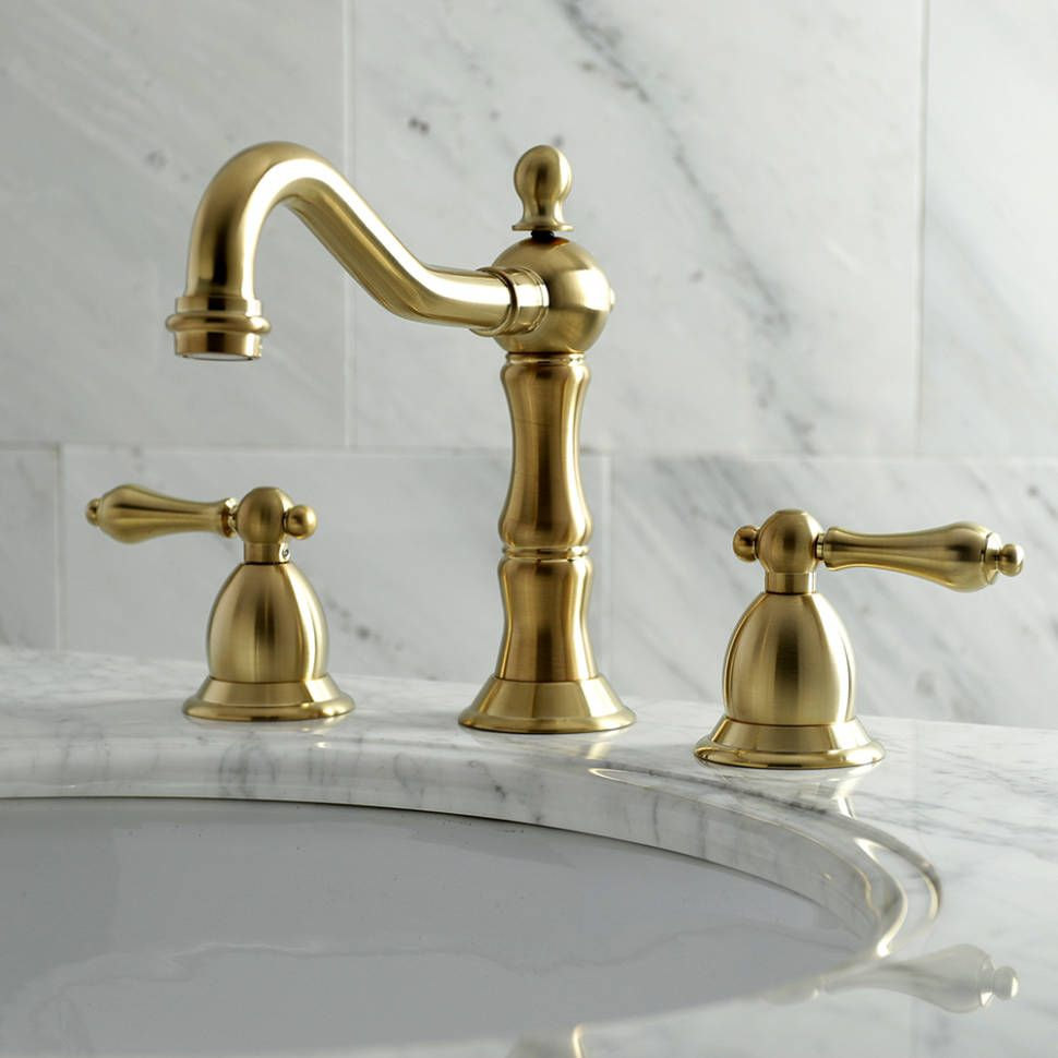 Photo of Heritage widely used bathroom faucet with drain