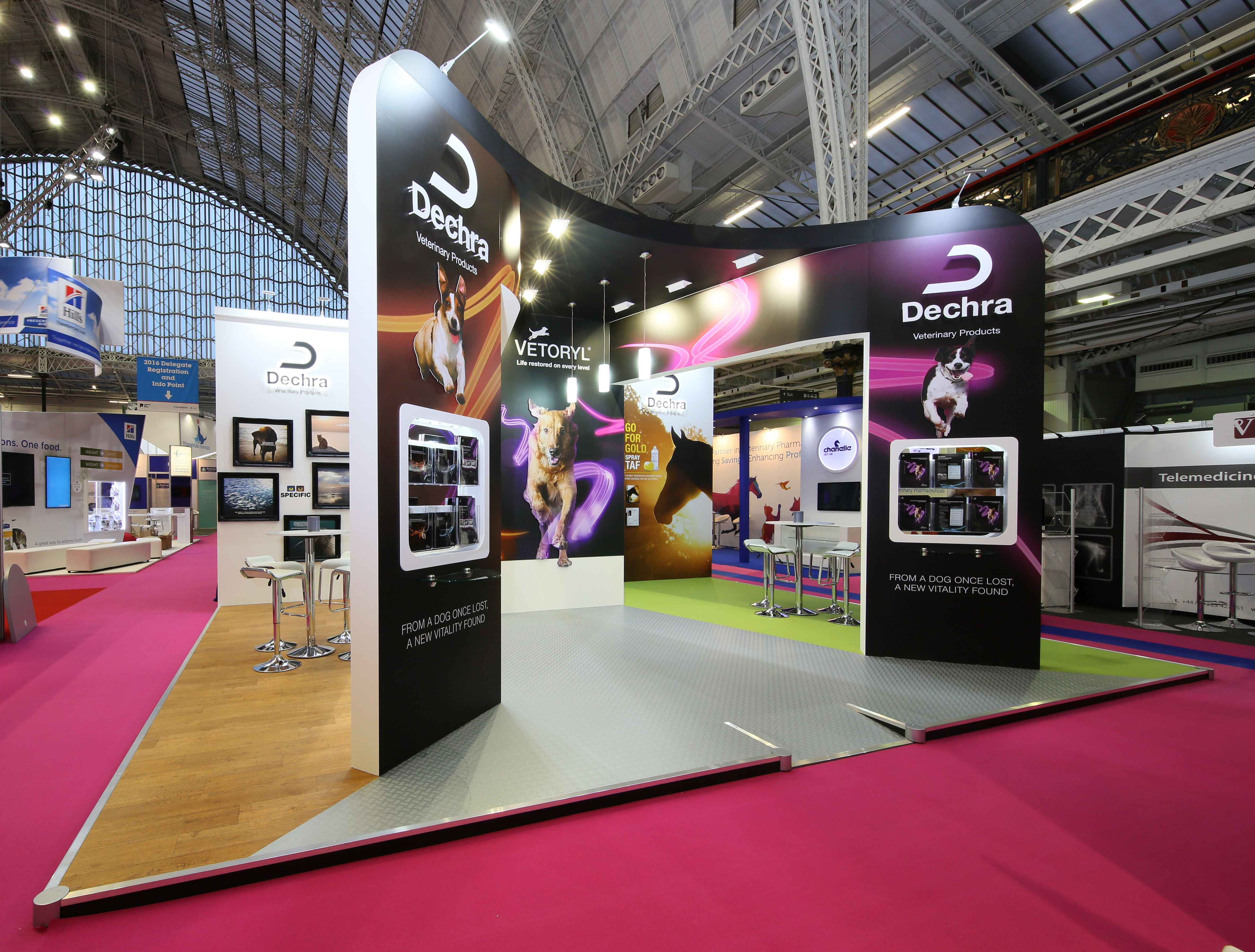 Exhibition Display Stands : Exhibition stand london vet show daymi pinterest
