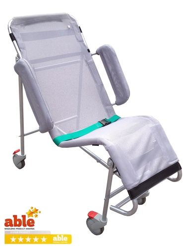 Naidex National 2015 Getaway Solo Shower Cradle Folding Shower Wheelchair Shower Disability Awareness