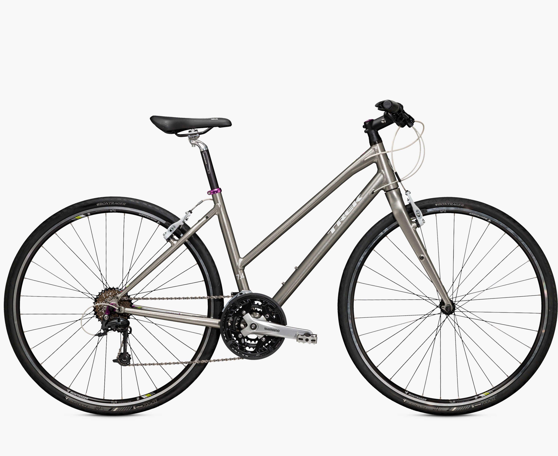 7 4 Fx Women S Fx Fitness City Trek Bicycle Trek Bikes Hybrid Bike