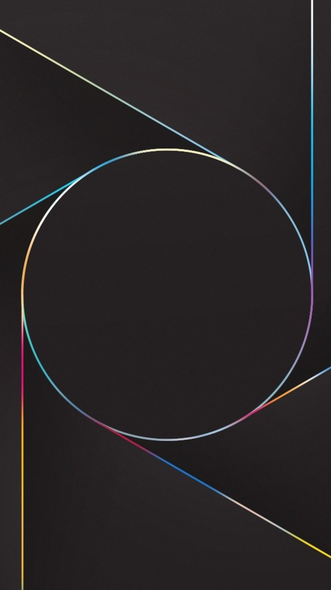 Abstract Lines Circle In 1080x1920 Resolution Abstract