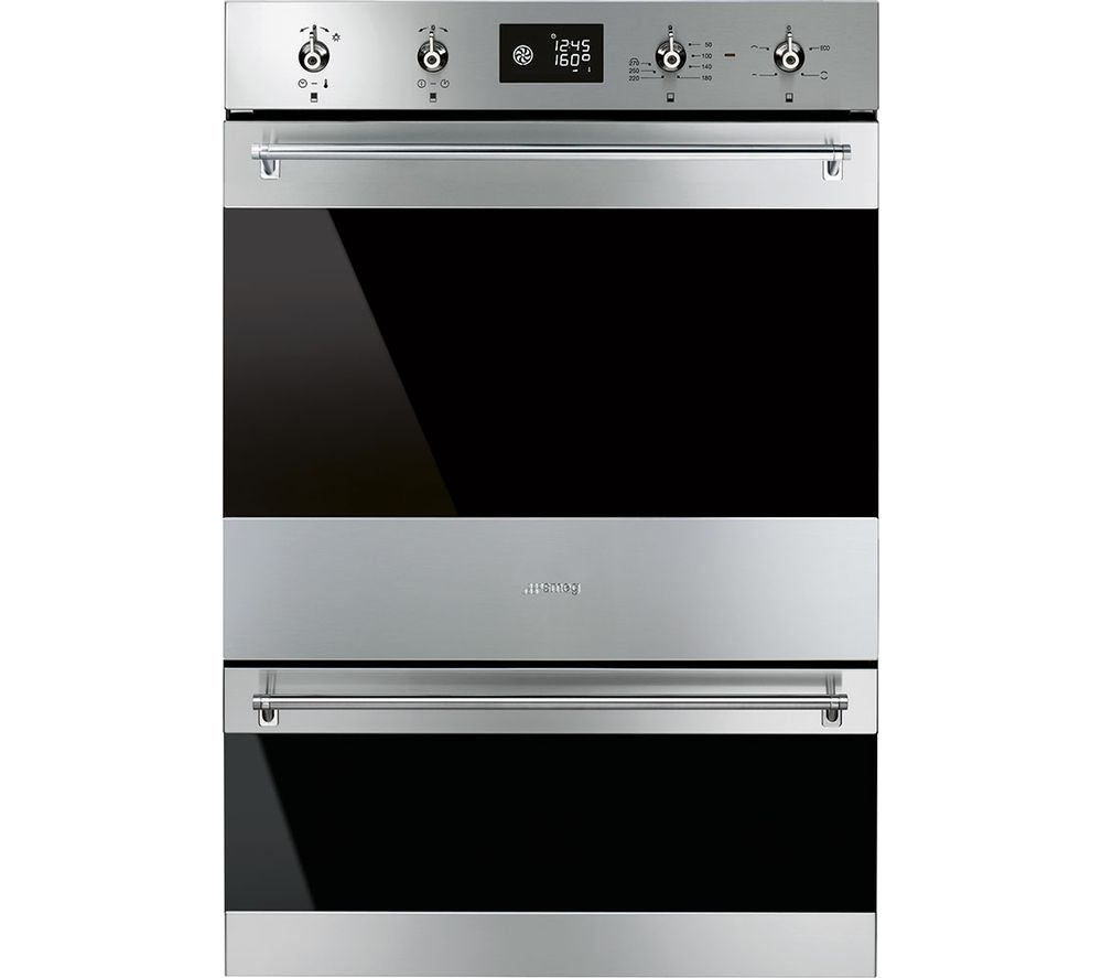 classic dosp6390x electric double oven black u0026 stainless steel