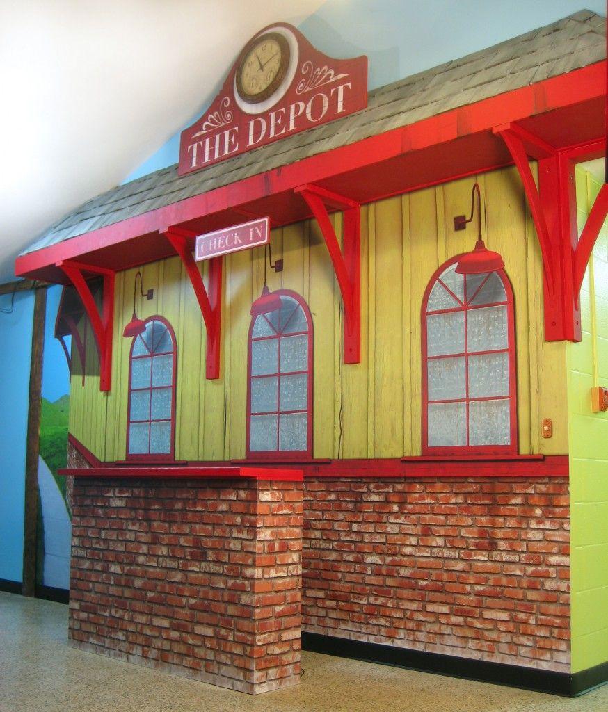 Train Bedroom Decor: Train Station Designs For Kids