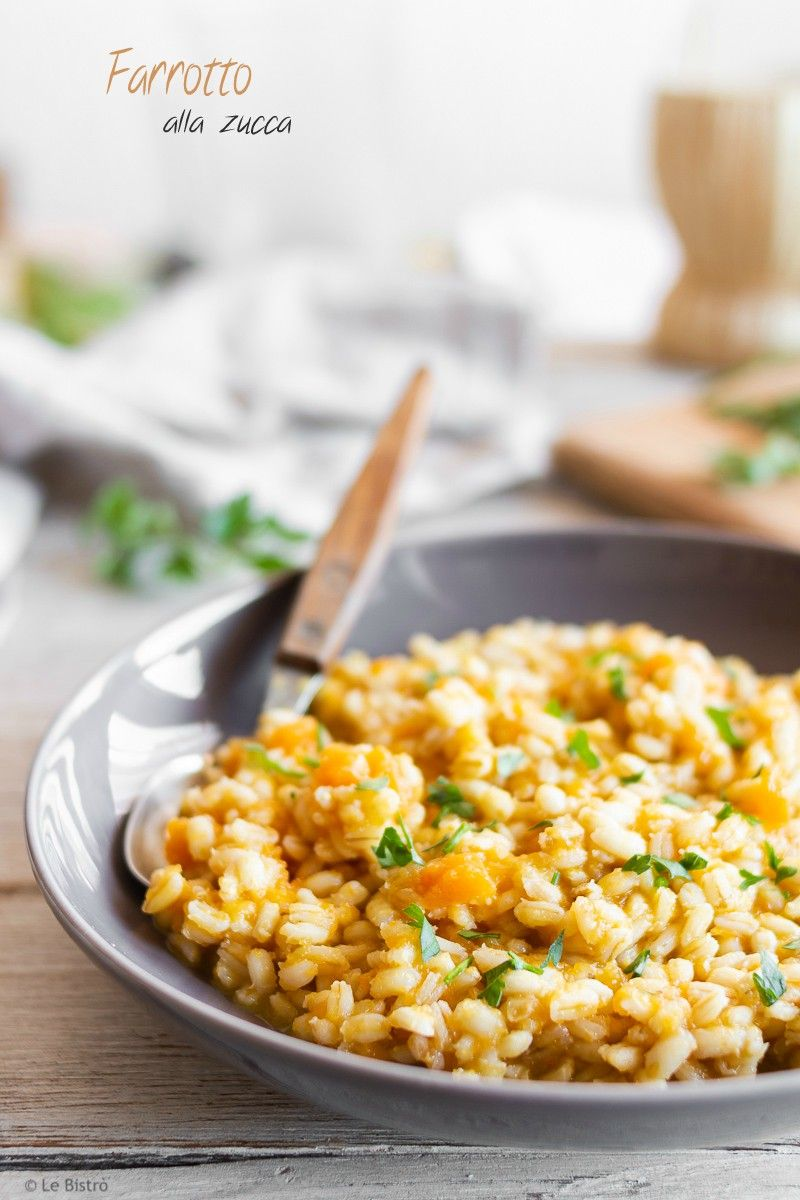 Farrotto alla zucca ricetta nel 2019 ricette food for Cucinare jalapenos