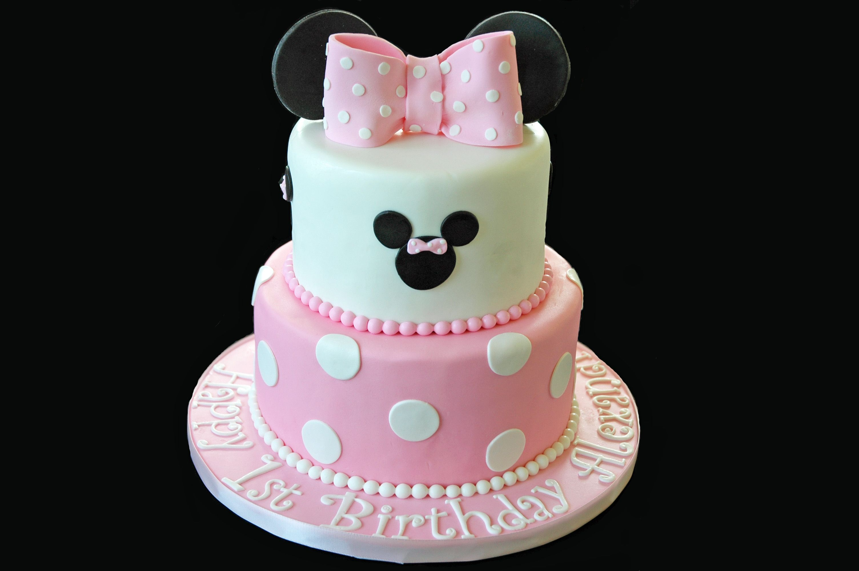 Minnie Mouse Cake Www1gateaucom Gâteau Distinctive Cakes