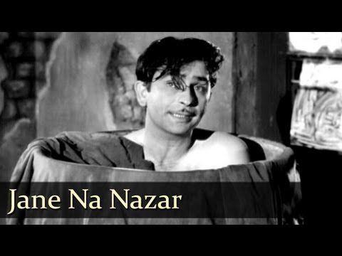 Jane Na Nazar Pehchane Jigar Raj Kapoor Nargis Aah Lata Mukesh Evergreen Hindi Songs Hit Songs Bollywood Songs Songs