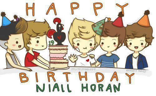 Happy Birthday Niall!