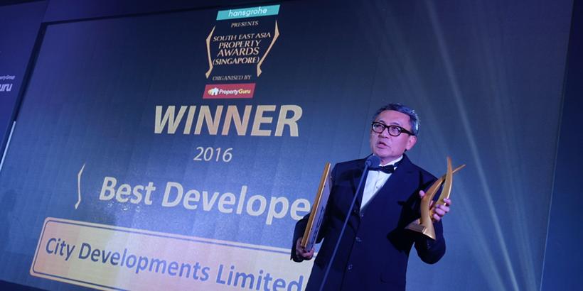 CDL dominates South East Asia Property Awards (Singapore