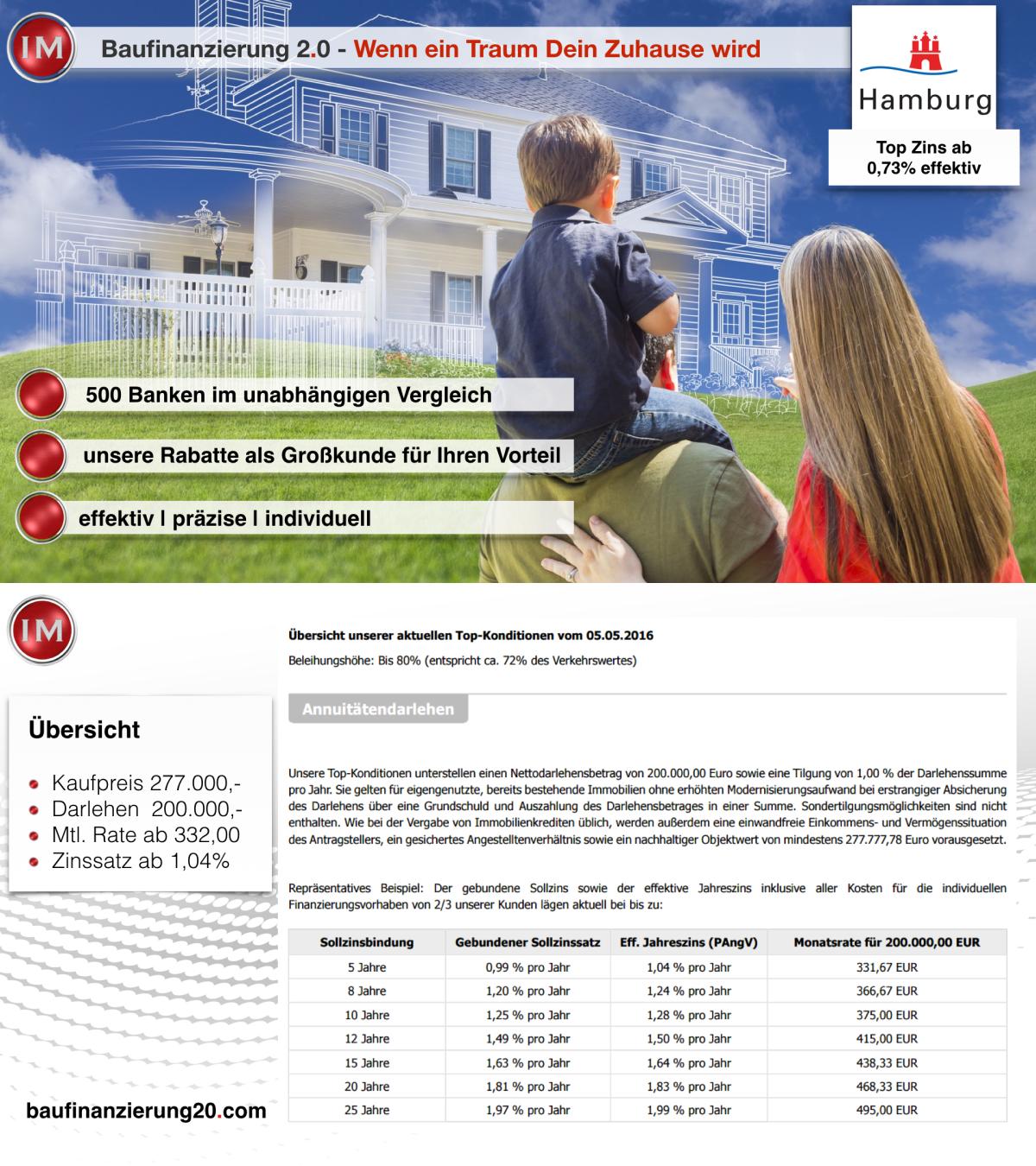 #Hamburg #Baufinanzierung #Immobilien www.baufinanzierung20.com www.im-finder.de