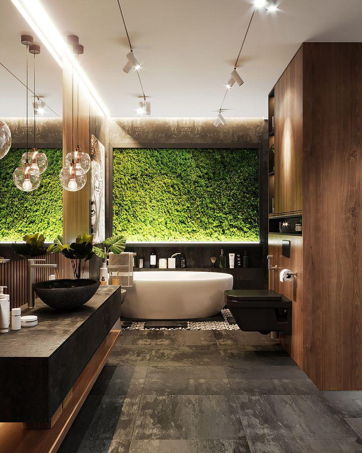 51 salles de bains principales avec images astuces et - Concevoir salle de bain ...