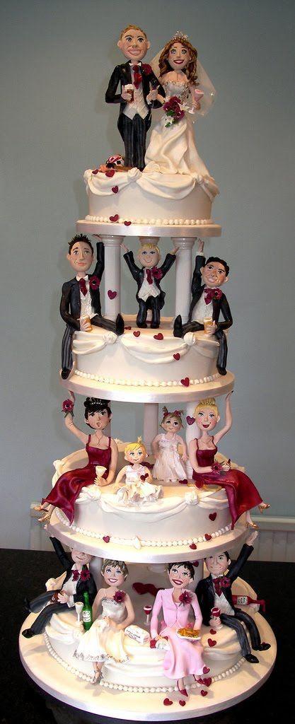 Unique Wedding Cake Toppers | Unique wedding cakes, Unique weddings ...