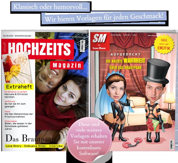 Spielend einfach eine hochzeitszeitung gestalten gratis for Hochzeitszeitung online gestalten