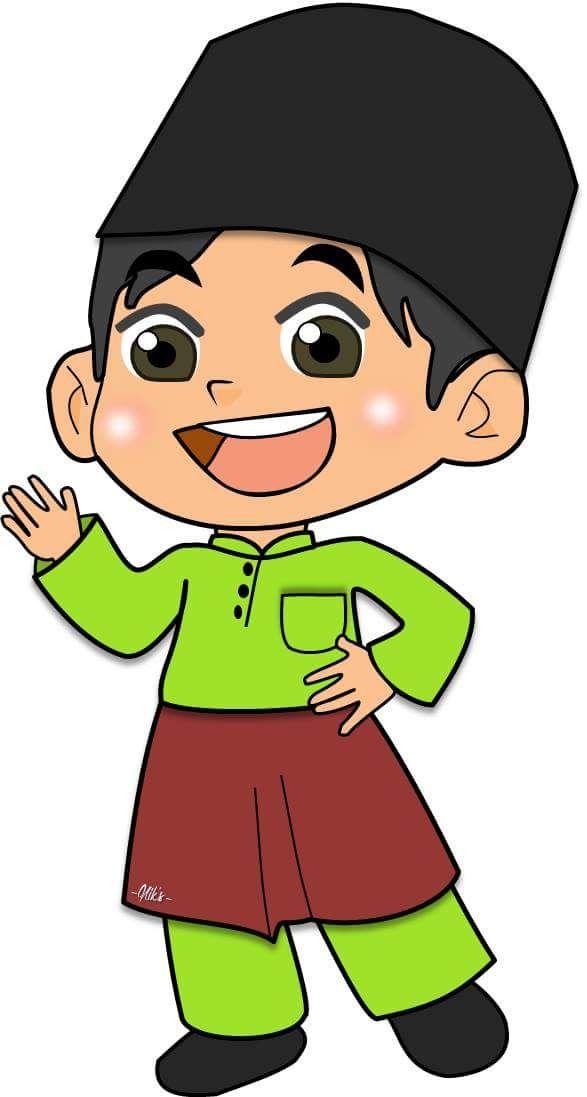Gambar Anak Sunat Animasi Png