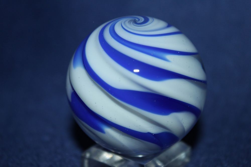"""Rick Davis Marbles 1 1/2""""    SIGNED - CONTEMPORARY 2014  MARBLE  # 760"""