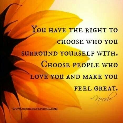Surround Yourself With People Who Show You Their Beautiful True