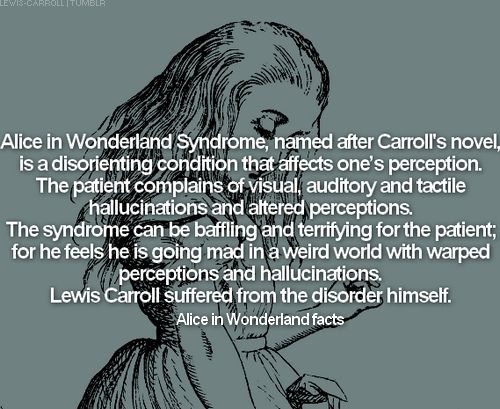 Image result for alice in wonderland syndrome