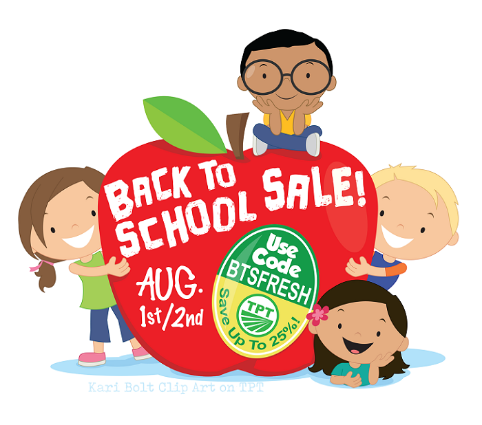 Back to School SALE 2018