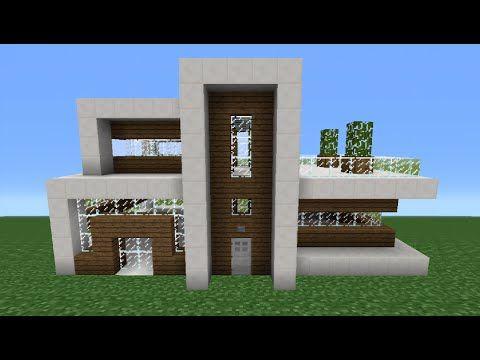 Minecraft Tutorial: How To Make A Quartz House - 7 - YouTube | Luca ...