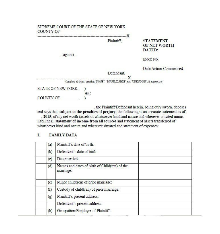 Printable Divorce Papers Template Missouri Legal Forms Free Download