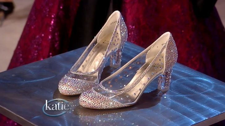 Glass Slippers Shoes Made Of Venetian Glass The Shoes The Fairy